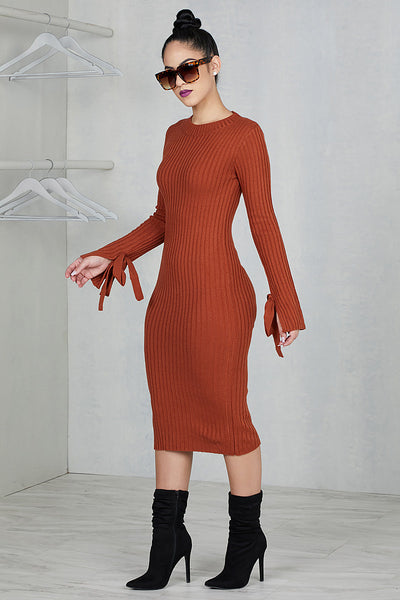 Sugar & Spice Sweater Dress