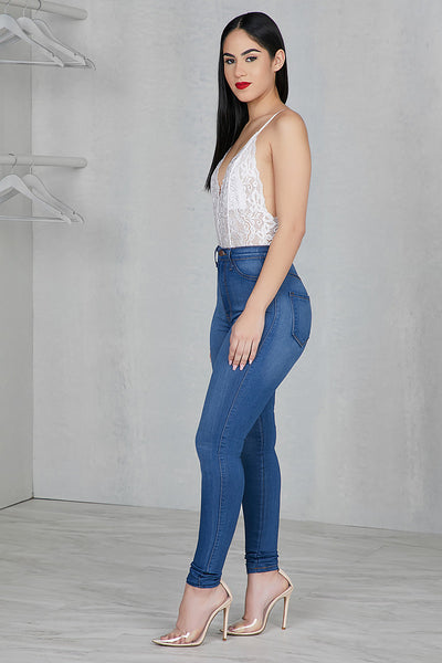 Perfect High Waist Jeans- FINAL SALE