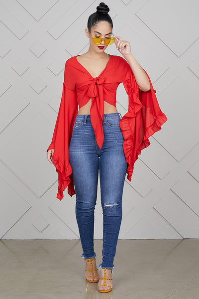 Ring My Bell Top (Red)