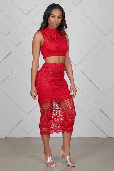 Turning Heads Skirt Set