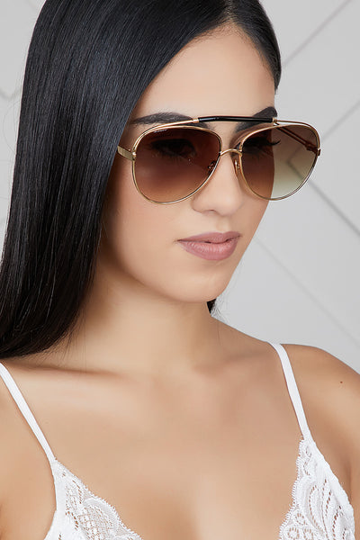 Raise The Bar Sunglasses (Brown)