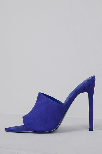 Cece Pointed Toe Mule (Royal Blue)