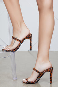 Envy Leopard Mule- FINAL SALE