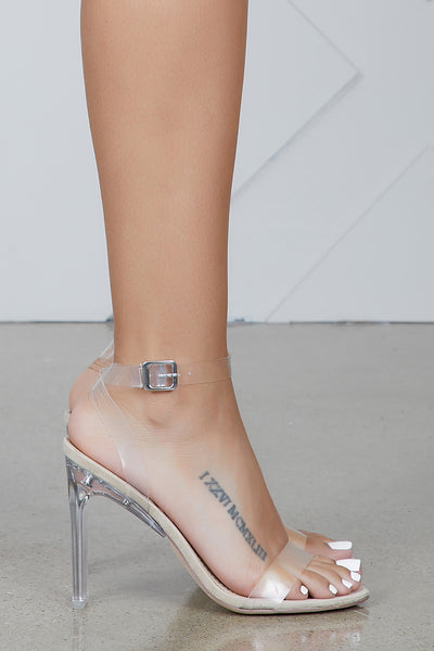 Invisible Love Clear Heel