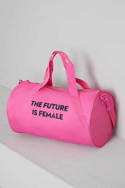 The Future Is Female Duffle Bag (Pink)- FINAL SALE