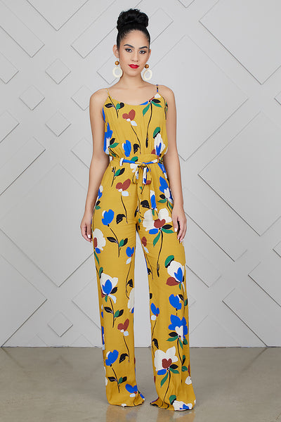 Mustard Love Jumpsuit