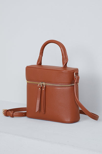 Rogue Crossbody Bag (Brown)- FINAL SALE