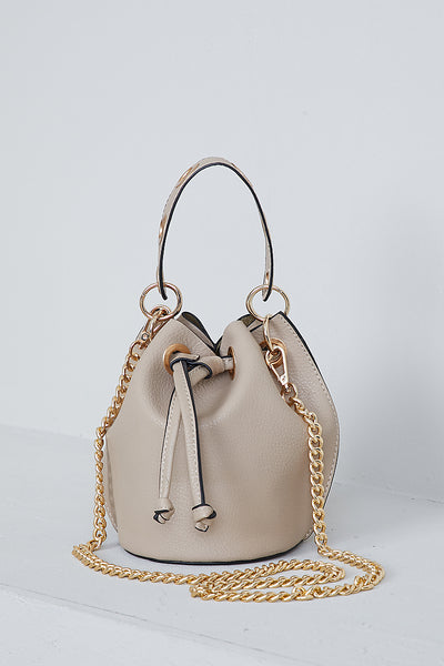 Seraphina Bucket Bag (Natural)