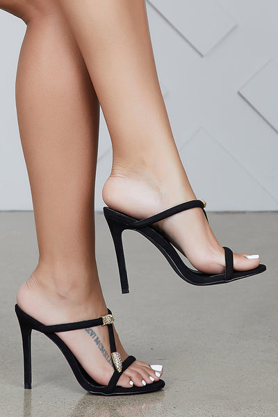 Fanny Mule (Black)- FINAL SALE