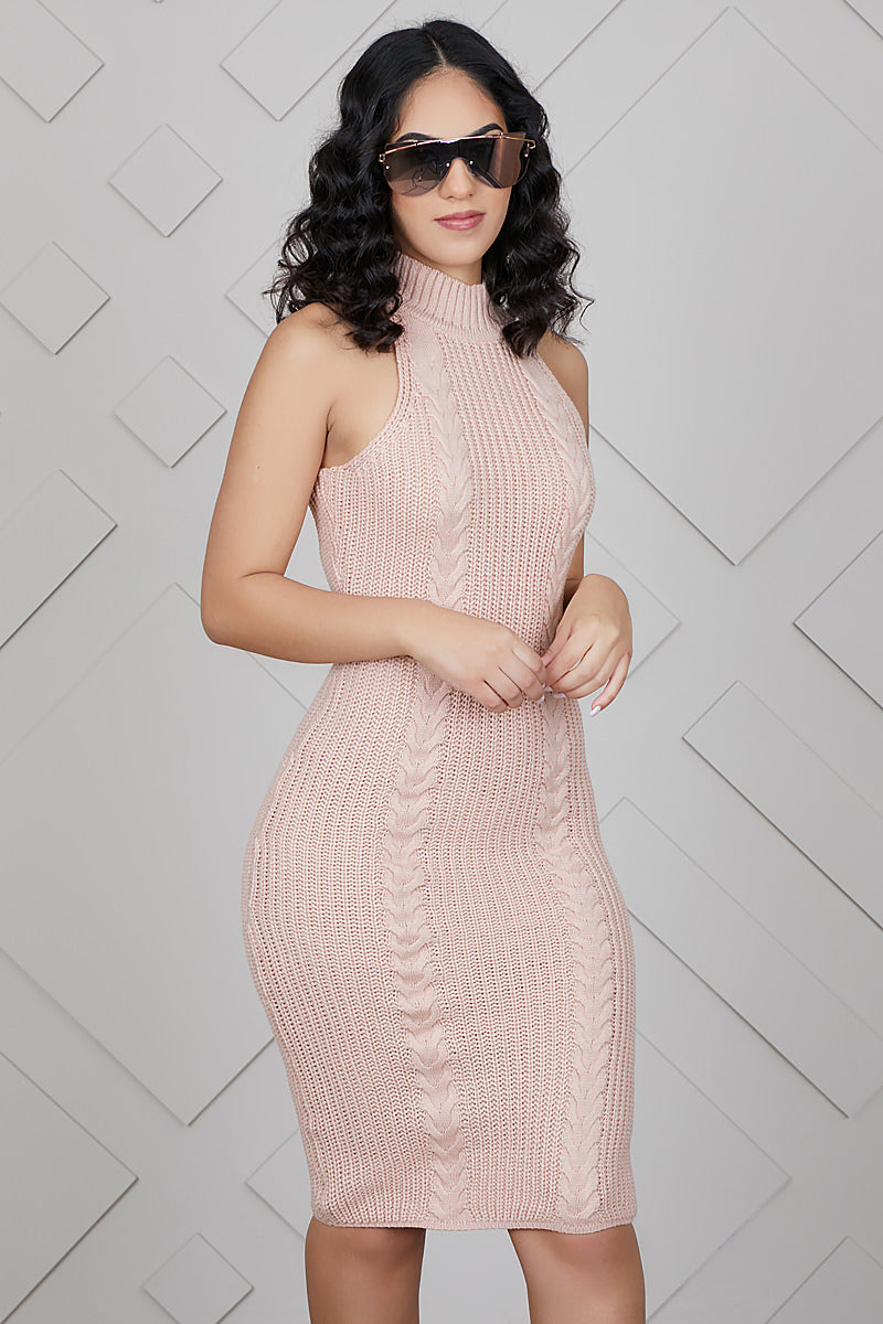 Make Me Blush Sweater Dress- FINAL SALE