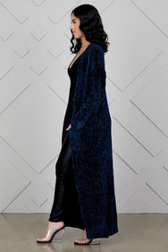 Lux Royal Cardigan (Blue)
