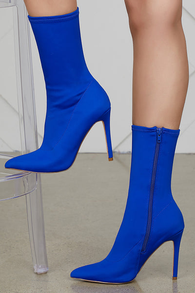 Maybel Booties (Royal Blue)