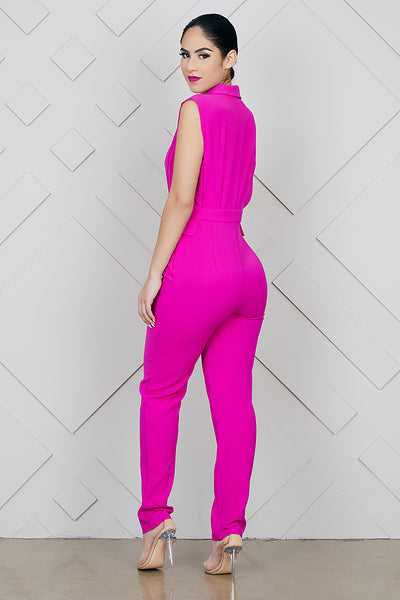Pretty Pink Jumpsuit- FINAL SALE