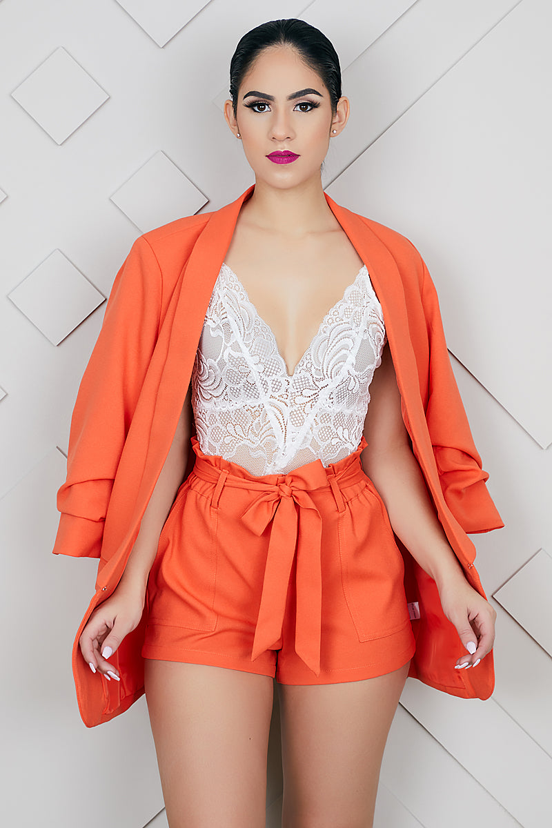 Orange Dreamscicle Shorts