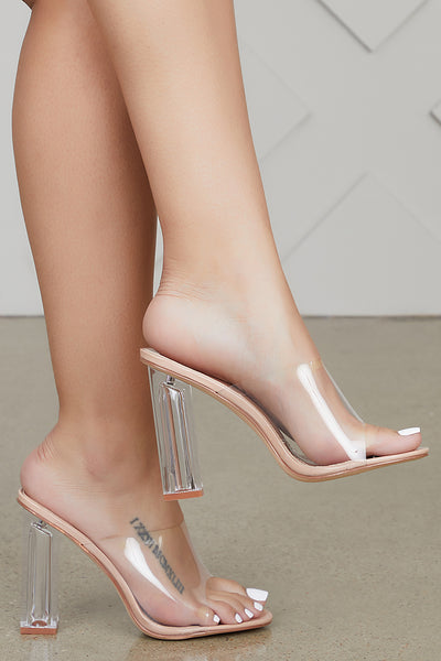 Fusion Clear Mules