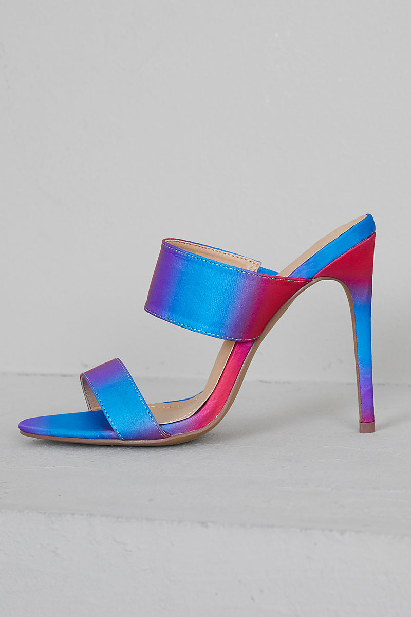 Cotton Candy Multi Color Mules- FINAL SALE