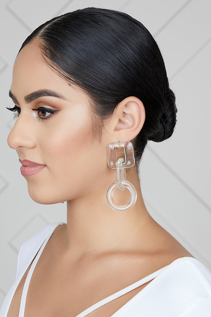 Clearly Transparent Earrings