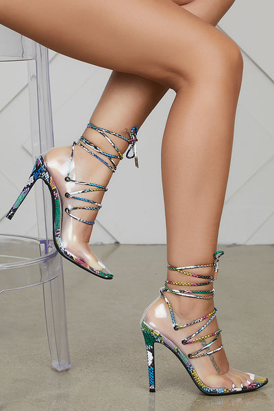 Sonnet Transparent Pump (Multi Snake)