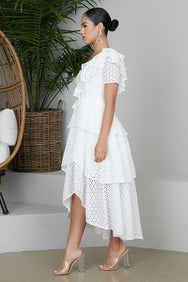 The Perfect Summer White Dress- FINAL SALE