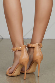 Stand Up Studded Heel- FINAL SALE