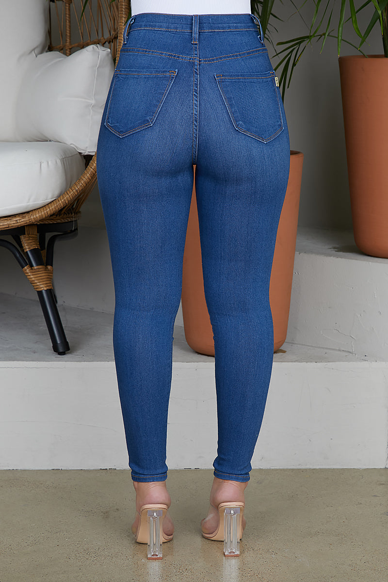 The Perfect Pair High Waist Jeans (Medium Wash)