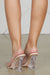 Transparent Wedge Heels (Nude)