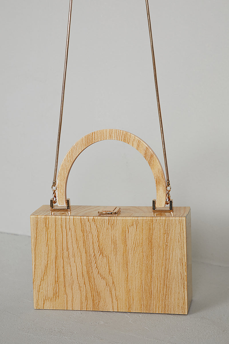 Square Up Wood Bag