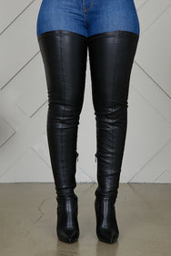 Extreme Thigh High Stretch Boots- PREORDER ONLY SHIP 12/10