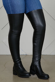 Thigh High Stretch Riding Boots