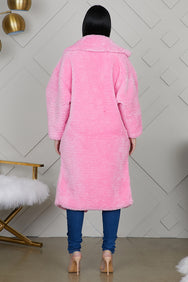 Teddy Coat (Pink)
