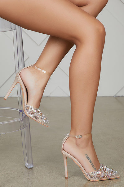 Pop Star Pump (Nude)- PREORDER ONLY SHIPS 12/13
