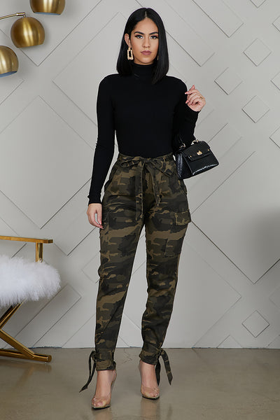 Camo Fatigue Cargo Pants
