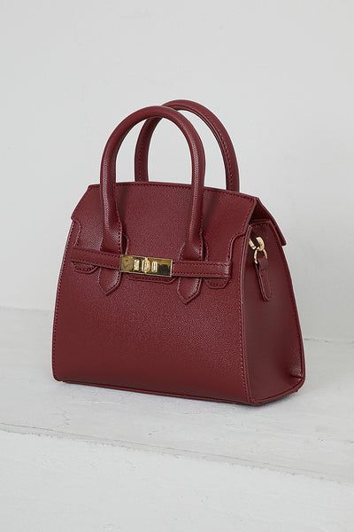 Top Handle Bag (Sangria)