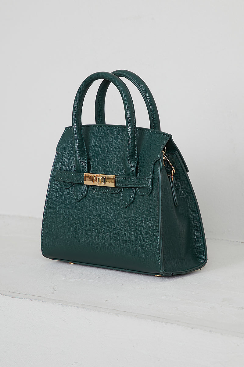 Top Handle Bag (Hunter Green)