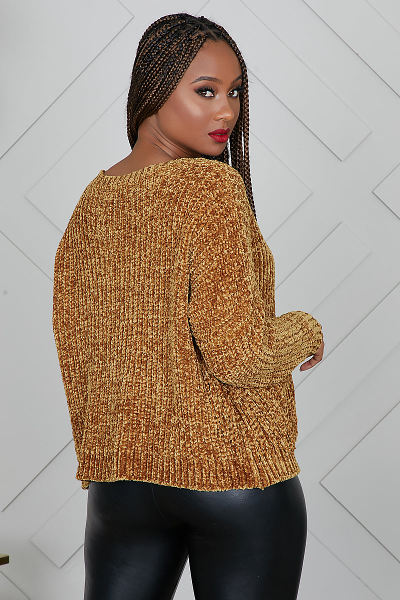 Fringe With Benefits Sweater- FINAL SALE