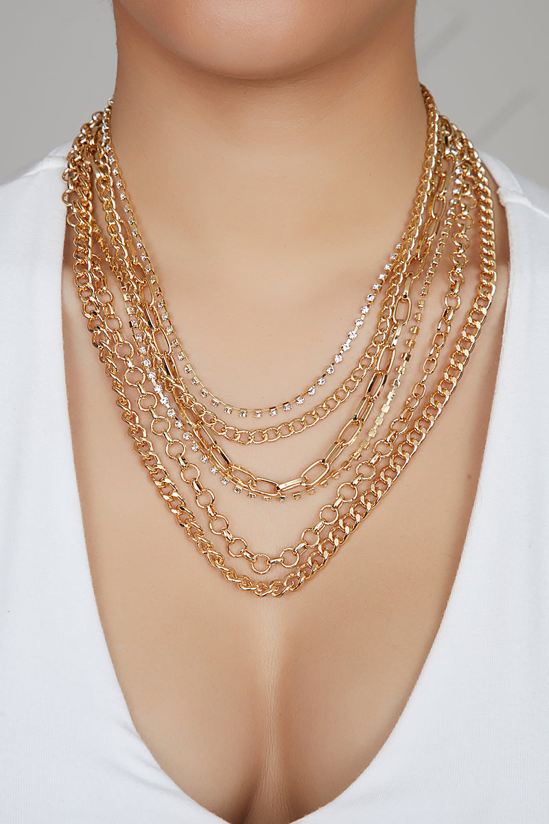 All My Chains Gold Necklace