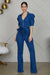 Puff Sleeves Denim Jumpsuit - FINAL SALE