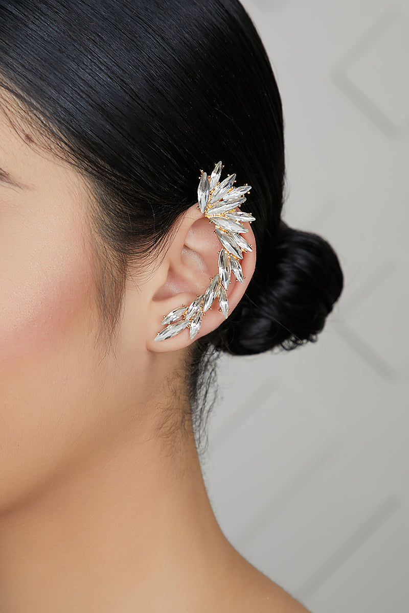 Single Jewel Ear Cuff