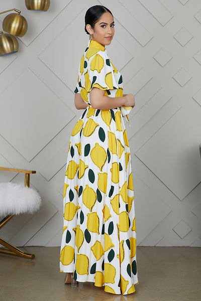 When Life Gives You Lemons Dress - FINAL SALE