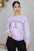 Quarantine & Chill Sweatshirt (Purple)