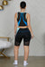 Active Biker Shorts Set (Color Block)