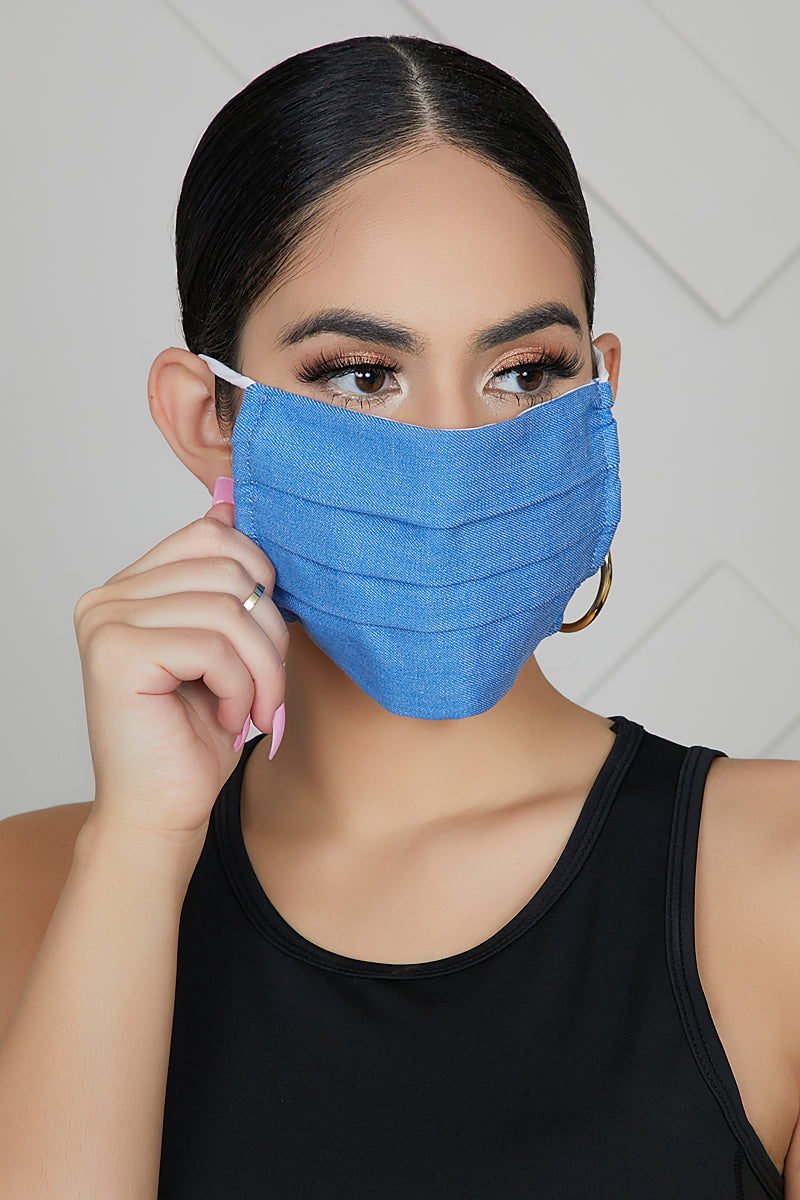 3 Ply Denim Mask