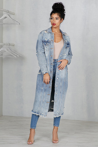 Hit The Floor Denim Jacket