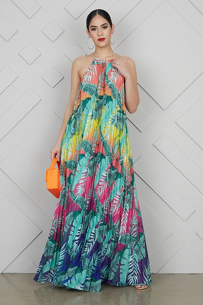 Palm Springs Ombre Maxi Dress