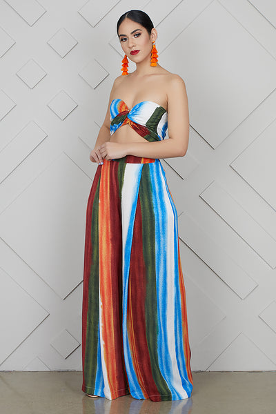 Let It Flow Stripe Set- FINAL SALE