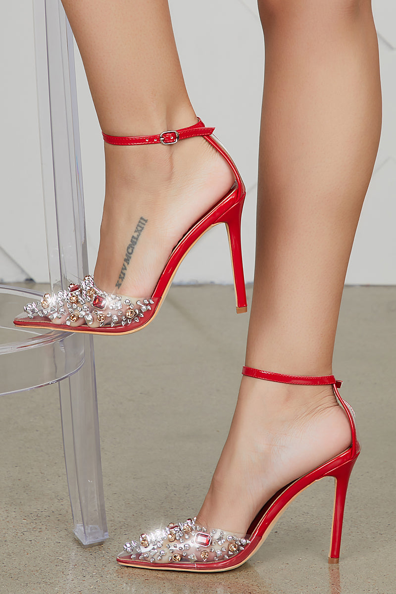 Pop Star Pump (Red)