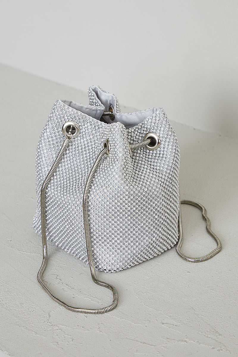 Blinged Out Bucket Bag