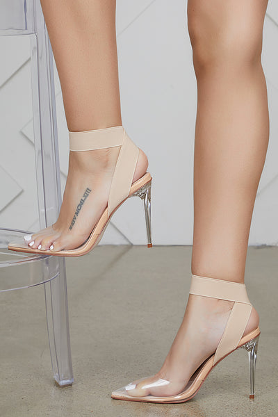 Sizzling Transparent Pumps- PREORDER ONLY SHIPS MID MAY