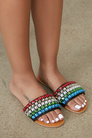 Crystal Cover Rhinestone Sandal - FINAL SALE
