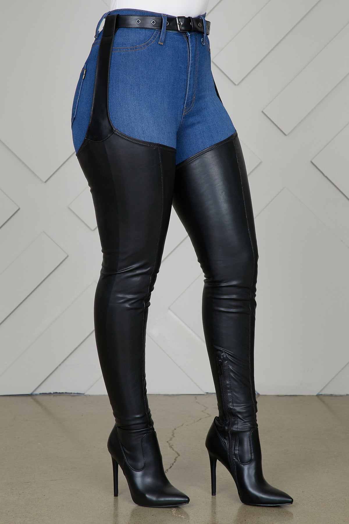 Westloop Thigh High Boots  Preorder Only Ship 12/12 Or Sooner by Lilly's Kloset